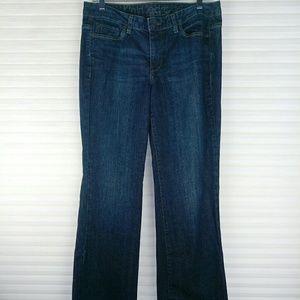 Calvin Klein Dark Wash Ultimate Boot Cut Jeans 10